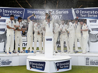 England vs West Indies: James Anderson's 7-for helps home side clinch series at Lord's