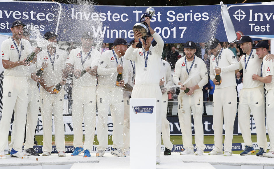 England revel in James Anderson's fairytale outing at Lord's as hosts win series 2-1 against West Indies