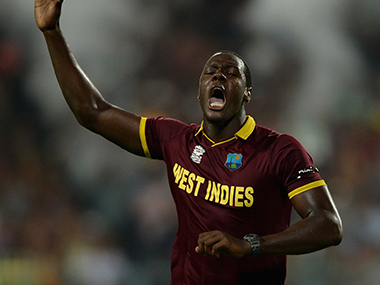 File image of Carlos Brathwaite. Getty