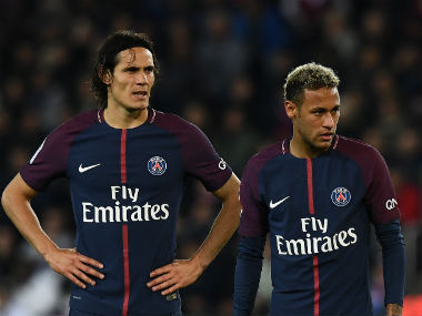Ligue 1: PSG's Edinson Cavani plays down reports of rift with Neymar after 2-0 win over Lyon