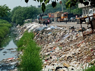 Ghazipur landfill caves in at East Delhi: Two killed in mishap; AAP, BJP blame each other