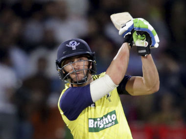 Faf du Plessis admitted he was nervous before coming to Pakistan, but had no complaints once he landed in Lahore. AP