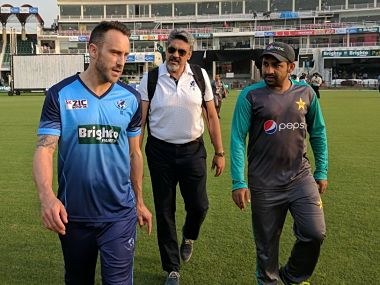 Pakistan vs World XI: Captain Faf du Plessis comforted by security arrangements in place for tour