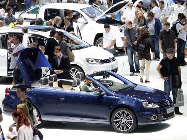 Frankfurt International Motor Show. Reuters.