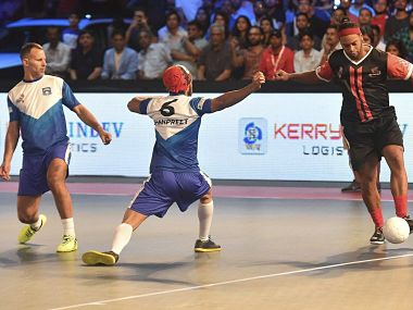 Premier Futsal 2017: Ronaldinho stars in Delhi Dragons win over Mumbai Warriors in opener