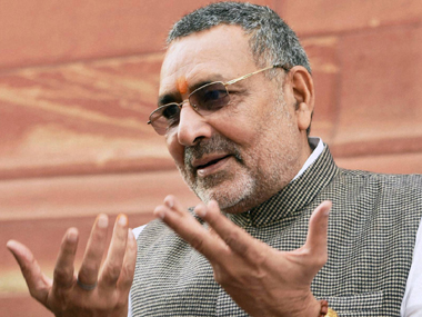 Giriraj Singh hits out at Rahul Gandhi's GST comments, says his body language resembles Gabbar Singh's