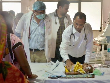 Gorakhpur hospital tragedy Uttar Pradesh Police makes sixth arrest nabs clerk of BRD Medical College