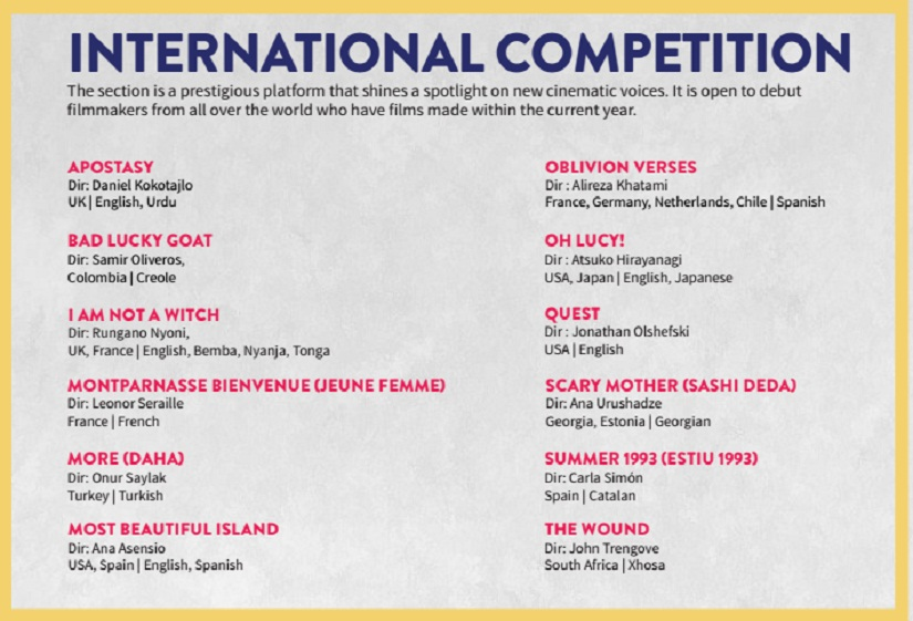 International Competition MAMI 825