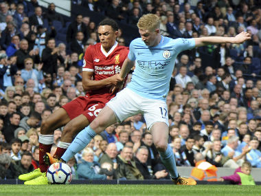 Premier League Manchester City are lucky to have Kevin de Bruyne says coach Pep Guardiola