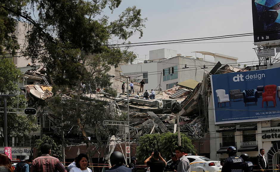 Mexico rocked by earthquake on anniversary of 1985 quake: 248 dead including 21 children