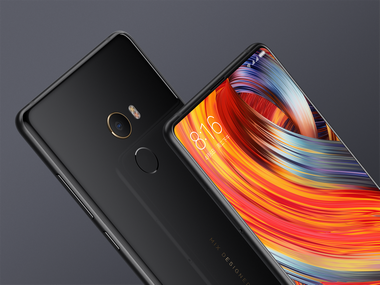 The Xiaomi Mi Mix 2 with Snapdragon 835.