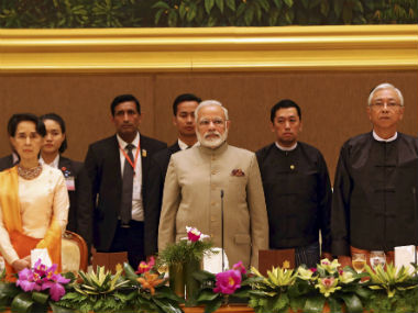 Narendra Modi in Myanmar highlights We took big decisions because nation is bigger than politics for us says PM