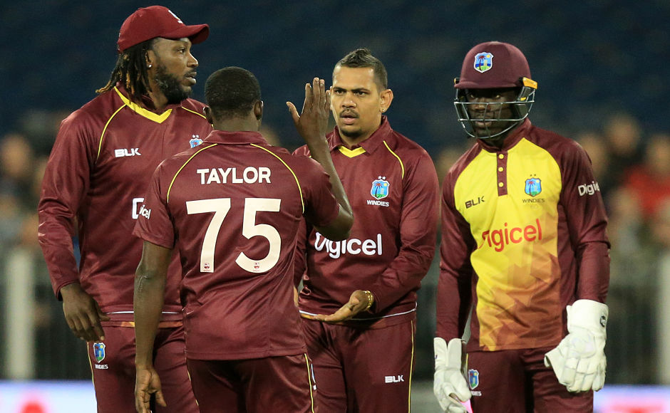 Sunil Narine, Evin Lewis help West Indies clinch one-off T20I against England by 21 runs