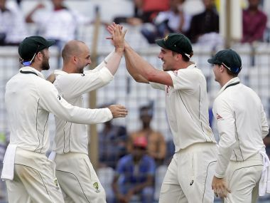 Bangladesh vs Australia: Nathan Lyon's career best figures propel visitors to series-levelling victory