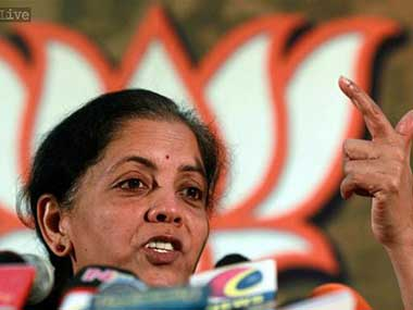 Cabinet reshuffle From economics to defence Nirmala Sitharaman rose quickly in BJP