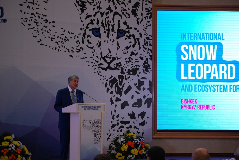 At the GSLEP 2017 summit a pledge to protect the snow leopards future and its habitat
