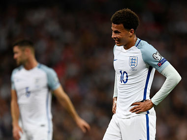 FIFA 2018 World Cup qualifiers: Dele Alli's offensive gesture in match against Slovakia could land him in trouble