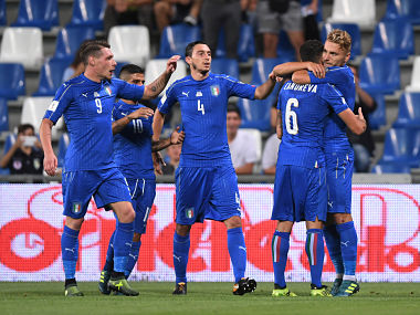 FIFA World Cup 2018 qualifiers: Heavyweights Italy face tough battle in play-offs as teams rush for remaining berths