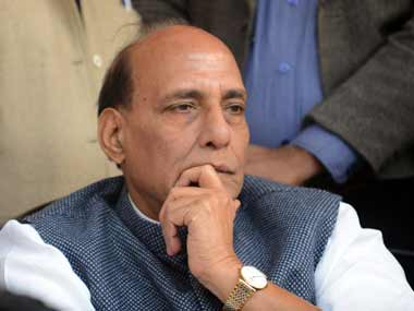 Rajnath Singh reviews security situation a day after IAF air strike on terrorist camp in Pakistan Ajit Doval present at briefing