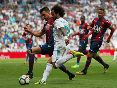 La Liga: Real Madrid drop points with surprise draw against Levante in Cristiano Ronaldo's absence