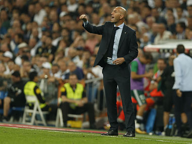 La Liga: Zinedine Zidane laments Real Madrid's home woes after shock defeat to Real Betis