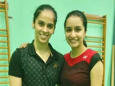 Saina Nehwal biopic: Shraddha Kapoor trains with badminton ace, and coach P Gopichand