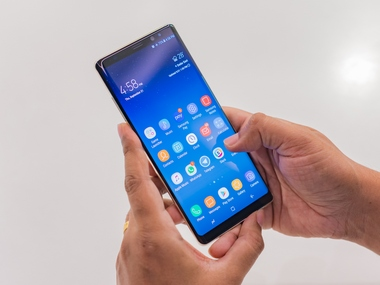 The Samsung Galaxy Note 8