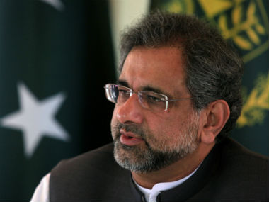 Pakistan PM Shahid Khaqan Abbasi sees zero political or military role for India in Afghanistan