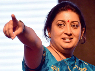 Smriti Irani on Rahul Gandhis UC Berkeley speech A failed dynast spoke about his failed journey