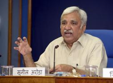 Sunil Arora is the third Election Commissioner Former bureaucrat has worked for finance ministry and Planning Commission