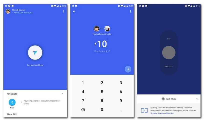 Google Tez launched: Download the Tez App for Android and iOS