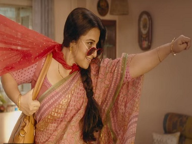 Vidya Balan on Tumhari Sulu: I could visualise the entire film during the narration