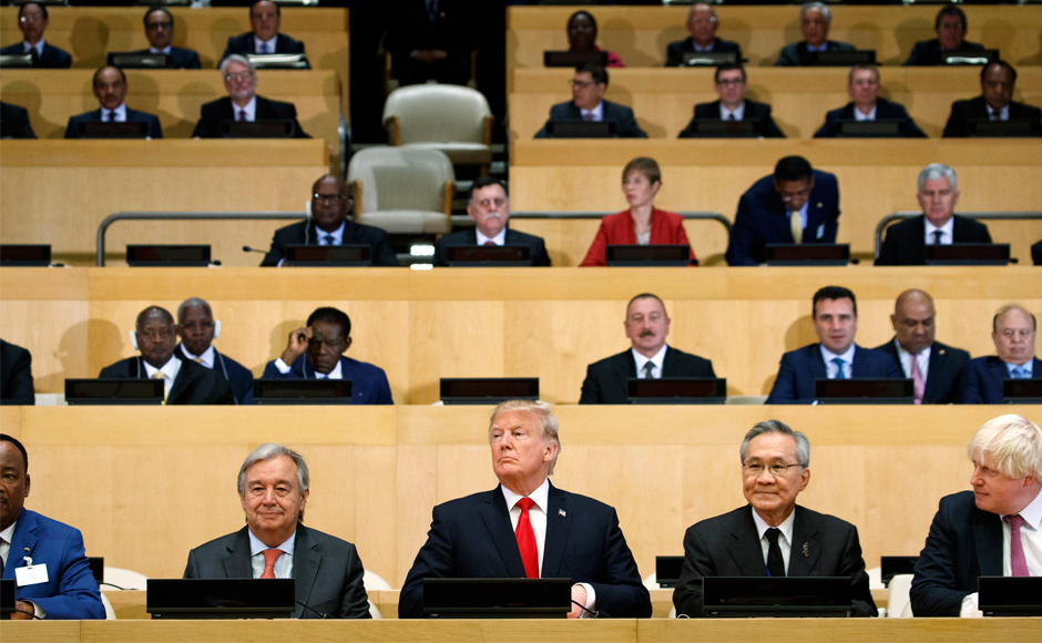Donald Trump says bureaucracy holding back UN as world leaders discuss North Korea, Rohingya crisis