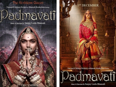 Padmavati first look: Deepika Padukone cuts a dramatic figure; film to release on 1 December