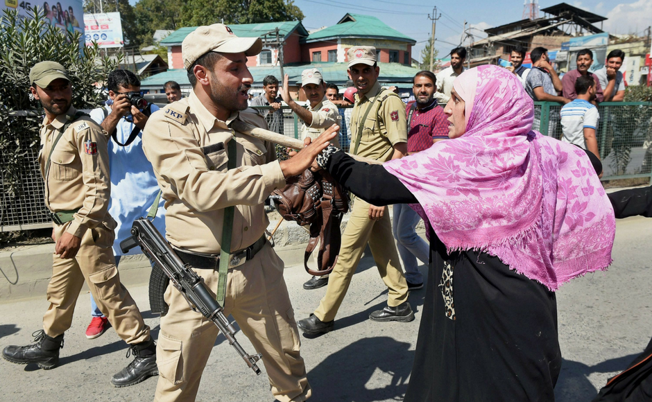 Kashmiri Anganwadi workers protest in Srinagar demanding better wages, permanent jobs