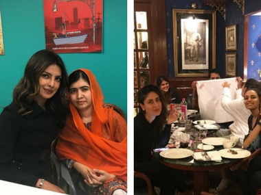 Kareena brings in birthday with Veere Di Wedding co-stars; Priyanka Chopra meets Malala: Social Media Stalkers' Guide