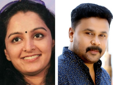 Manju Warrier (left), Image courtesy: Facebook/ Manju Warrier; Dileep (right), Image courtesy: Facebook/ Dileep