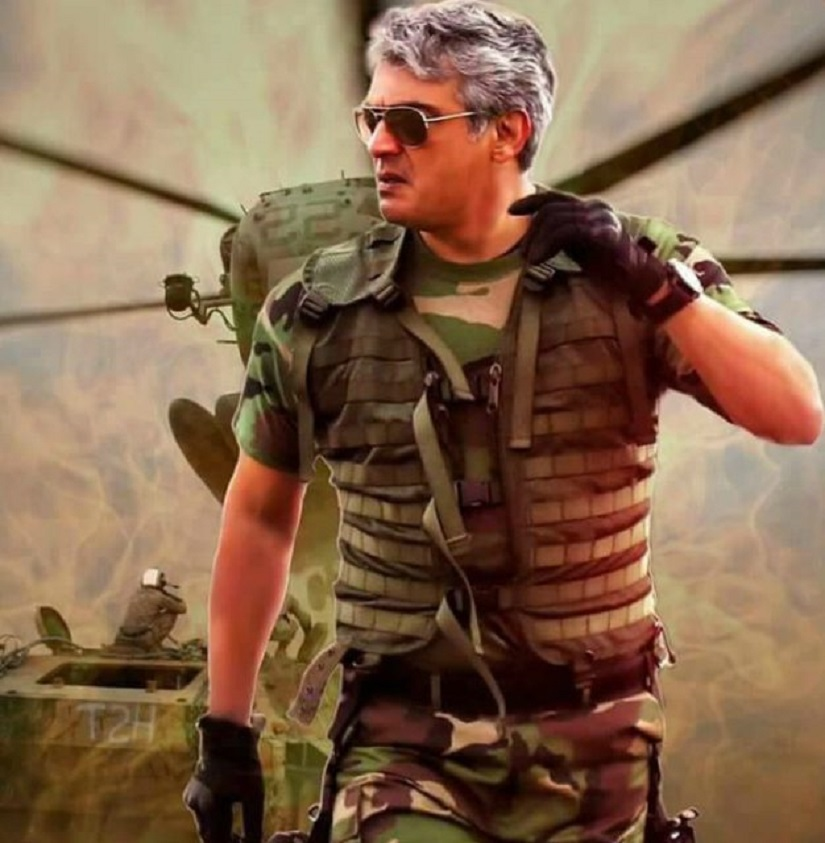 Ajith in a still from Vivegam. YouTube