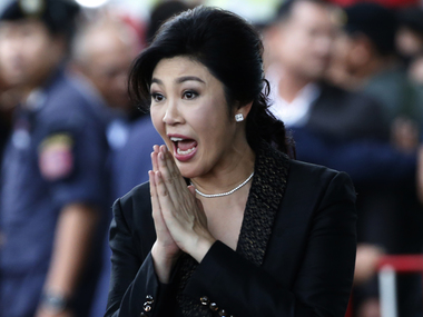 Yingluck Shinawata ousted Thailand PM sentenced to 5 years in jail for criminal negligence
