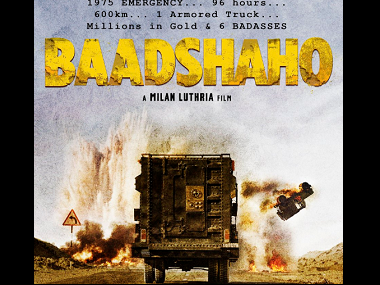 Baadshaho poster. Image from Twitter