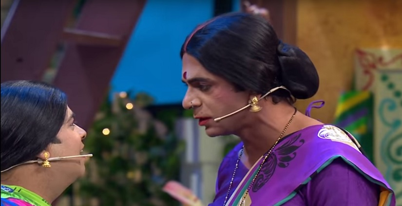 Suil Grover on The Kapil Sharma Show. Youtube screengrab