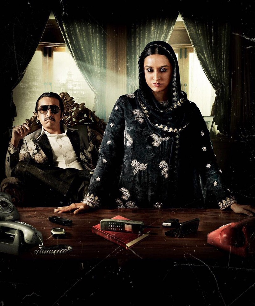 Poster for Haseena Parkar. File Photo