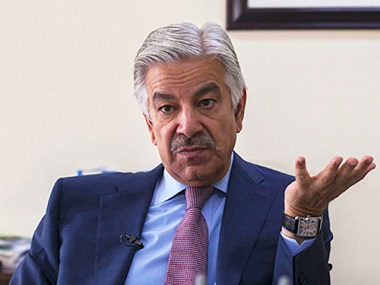 Pakistan minister Khawaja Asif slams India for ceasefire violations says ties between two countries cant improve