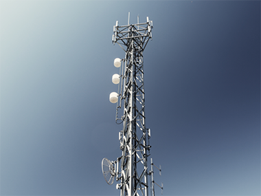 A mobile tower