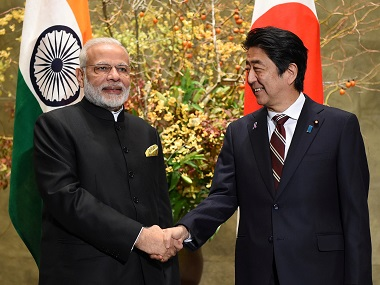 Narendra Modi to visit Japan on 28 Oct Indias incoherent approach on IndoPacific Quad may sour friendly ties with Shinzo Abe