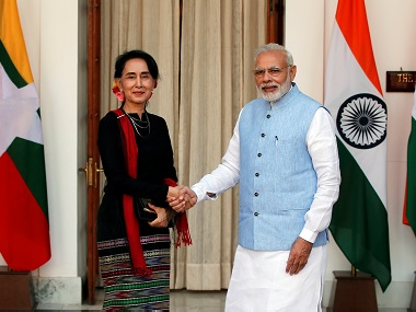 Narendra Modi in Myanmar Indias bridge to the east Nay Pyi Taw has great security and economic implications