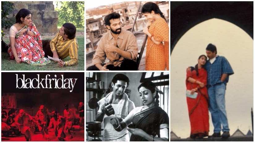 While Mumbai has played second fiddle to Delhi and small towns across the vast Northern belt over the past decade, it's hardly a silver screen ingénue. Seen here, stills from Rajnigandha; Satya; Bombay; Katha; Black Friday