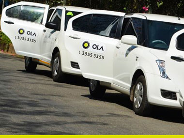 Ola Cabs may be raising 2 bn from SoftBank Tencent in battle for market with Uber