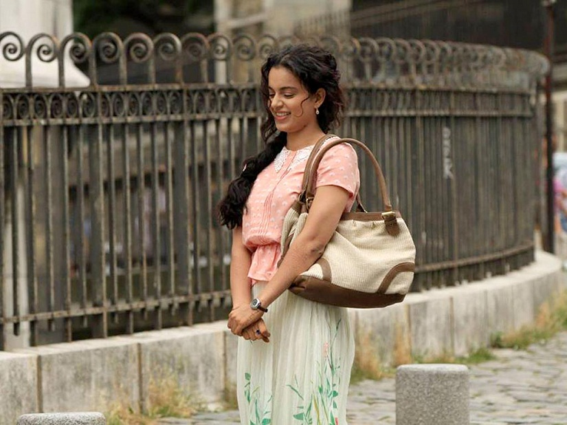 Kangana Ranaut in a still from Queen. YouTube