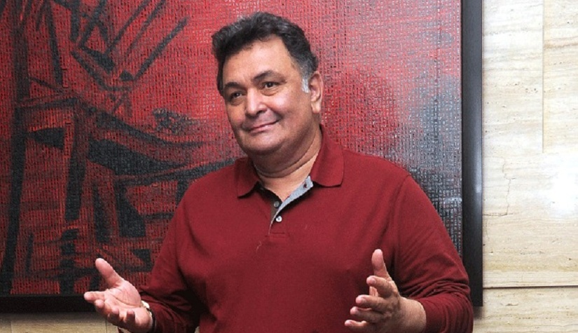 Rishi Kapoor on returning to Hindi films and his second stint I dont mind if the film is small Im not a star Im an actor